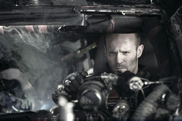 Jason Statham Death Race Production Stills Universal 2008