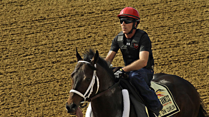Ride on Curlin gallops strongly in Preakness prep