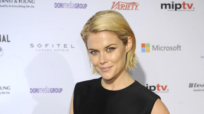 Australian actress Rachael Taylor arrives for the 40th International Emmy Awards,  Monday, Nov. 19, 2012 in New York.  (AP Photo/Henny Ray Abrams)