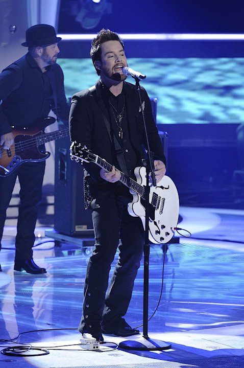 David Cook performs