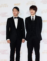Park Yu Chun and Kim Jae Joong