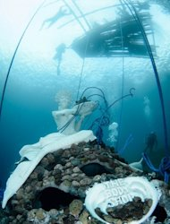 East Bali's reefs welcome new underwater art