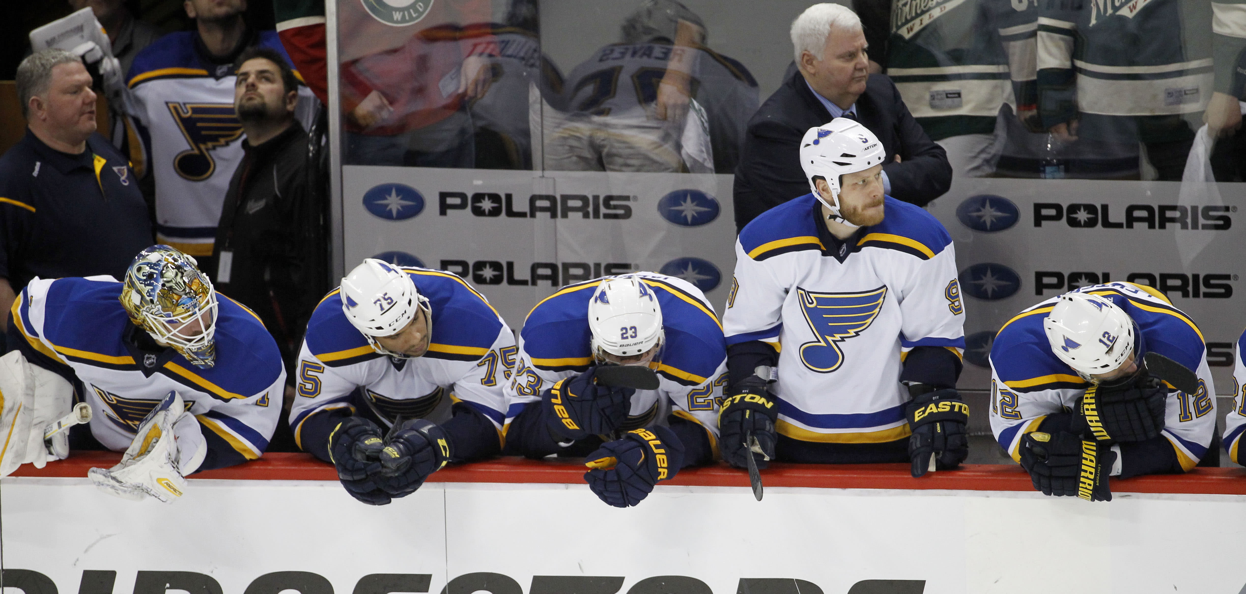 For third straight year, St. Louis Blues make an early exit