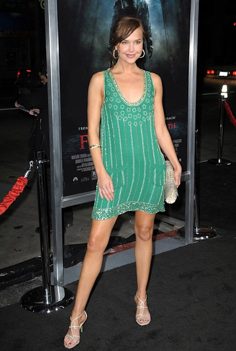 Friday the 13th LA Premiere 2009 Arielle Kebbel