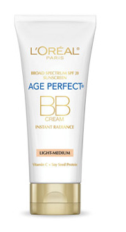 L'Oréal Paris Age Perfect BB Cream Instant Radiance, $16.99