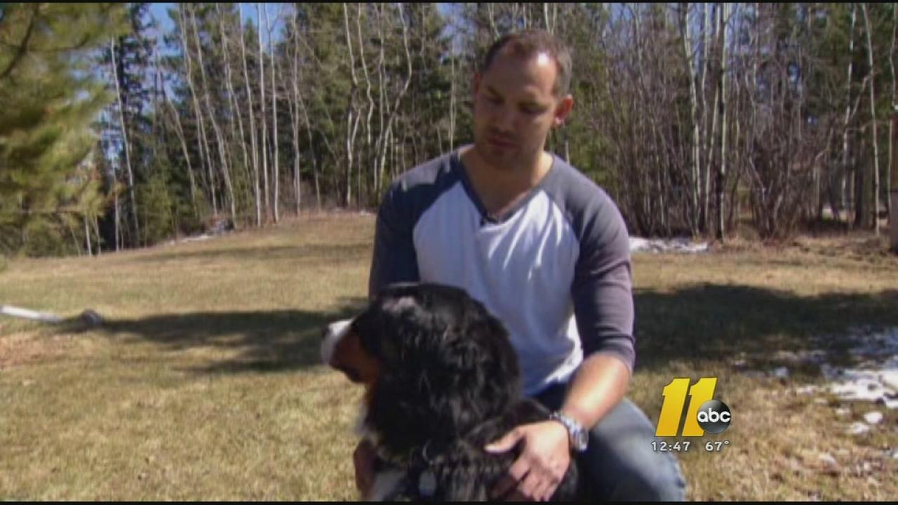 Canadian man saves girlfriend's dog from cougar attack