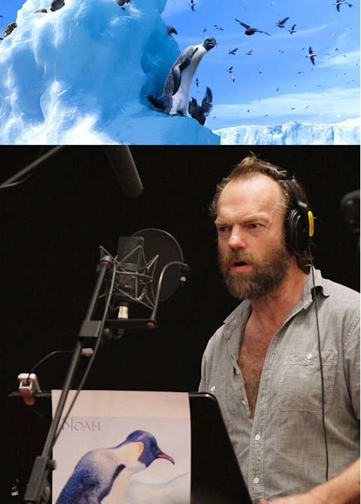 Happy Feet Two 2011 Warner Bros. Pictures Hugo Weaving