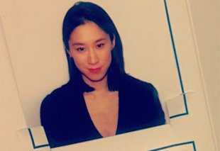 American editor Eva Chen's stylish passport photo
