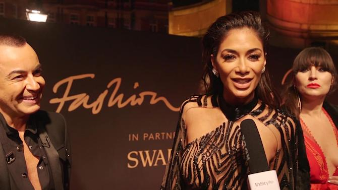 InStyleUK at the British Fashion Awards 2016