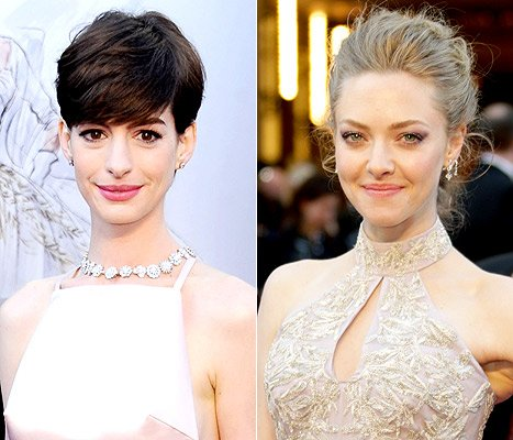 Anne Hathaway Threw &quot;a Fit&quot; Over Amanda Seyfried&#39;s Oscar Dress During Rehearsal