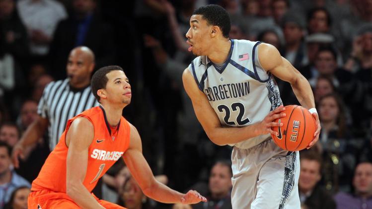 NCAA Basketball: Big East Tournament-Georgetown vs Syracuse