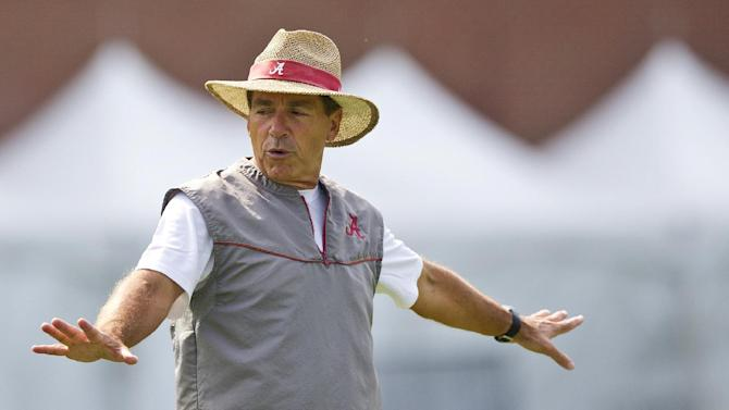 Alabama opens with QB battle, 3 suspended players