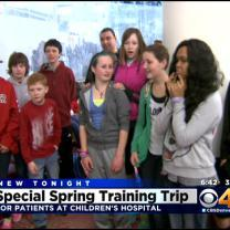 Colorado Kids Battling Cancer Head To Rockies' Spring Training