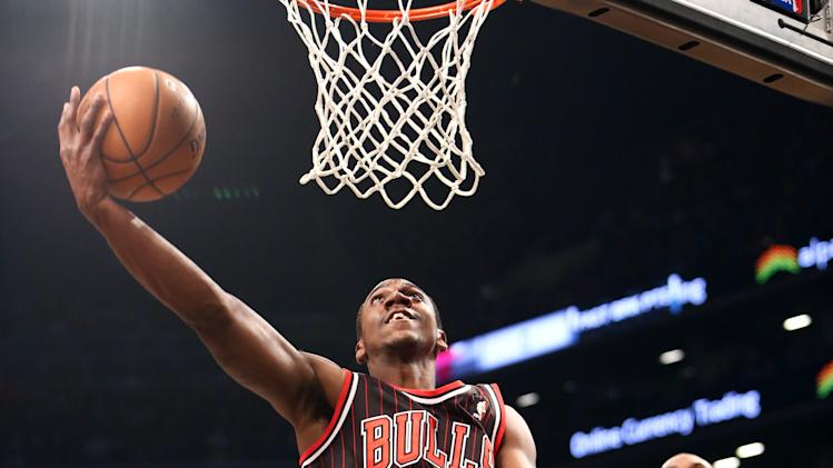 NBA: Chicago Bulls at Brooklyn Nets