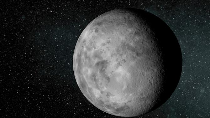 This image provided by NASA shows an artist rendering of the newfound planet known as Kepler-37b. The planet is about the size of our moon and is the smallest known exoplanet, according to a study published in Thursday Feb. 21,2013 issue of the journal Nature. (AP Photo/NASA/Ames/JPL-Caltech)