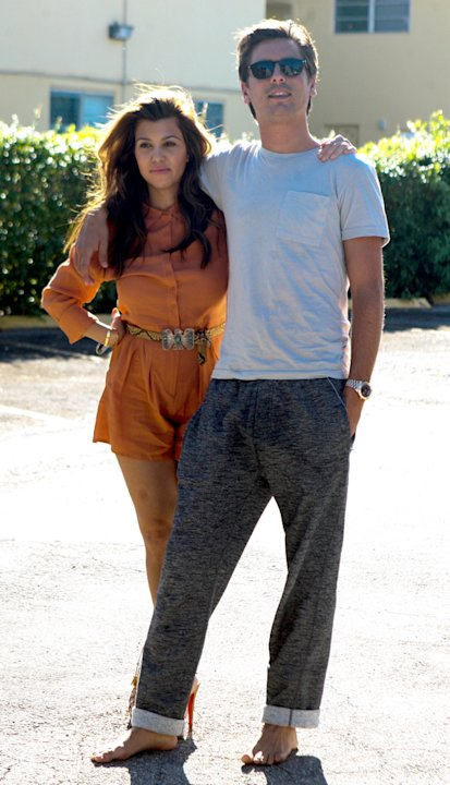 Scott Disick,Kourtney Kardashian
