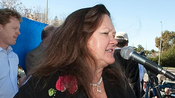 Australia's richest person Gina Rinehart was this week ranked the 37th most powerful woman in the world by Forbes magazine with wealth of US$12.2 billion