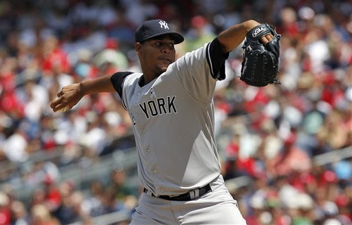 Yankees sweep Nationals, win 4-1 for 9th straight