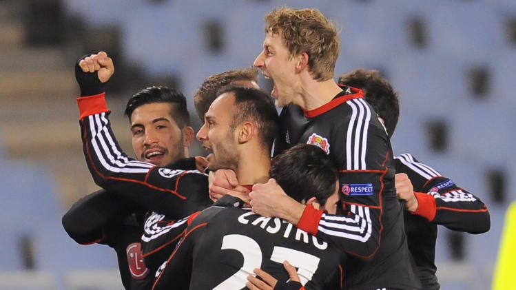 Champions League: Olympiakos, Leverkusen advance