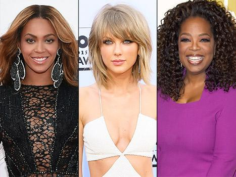 Beyonce, Taylor Swift, Oprah Winfrey Among Forbes' Most Powerful Women for 2015