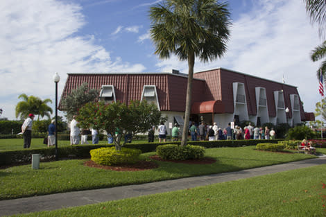 Photos: Voting Lines About One Hour in One Palm Beach County Retirement Community