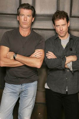 Pierce Brosnan and Greg Kinnear of The Matador Sundance Film Festival - 1/22/2005