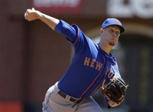 Wheeler, Buck lead Mets over slumping Giants