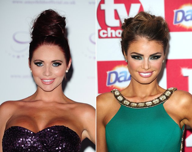 Amy Childs and Chloe Sims
