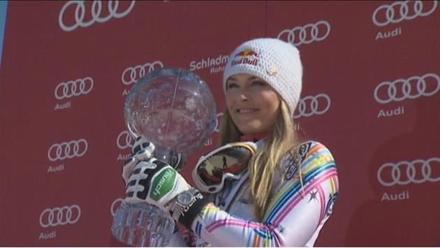 Vonn: Profile of a champion