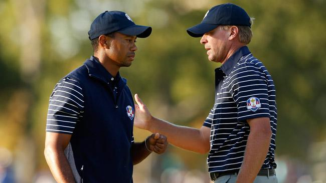 Another fruitless day for Woods at Ryder Cup