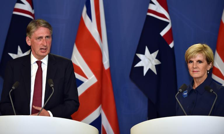 Australia, Britain slam IS hostage killing at defence talks