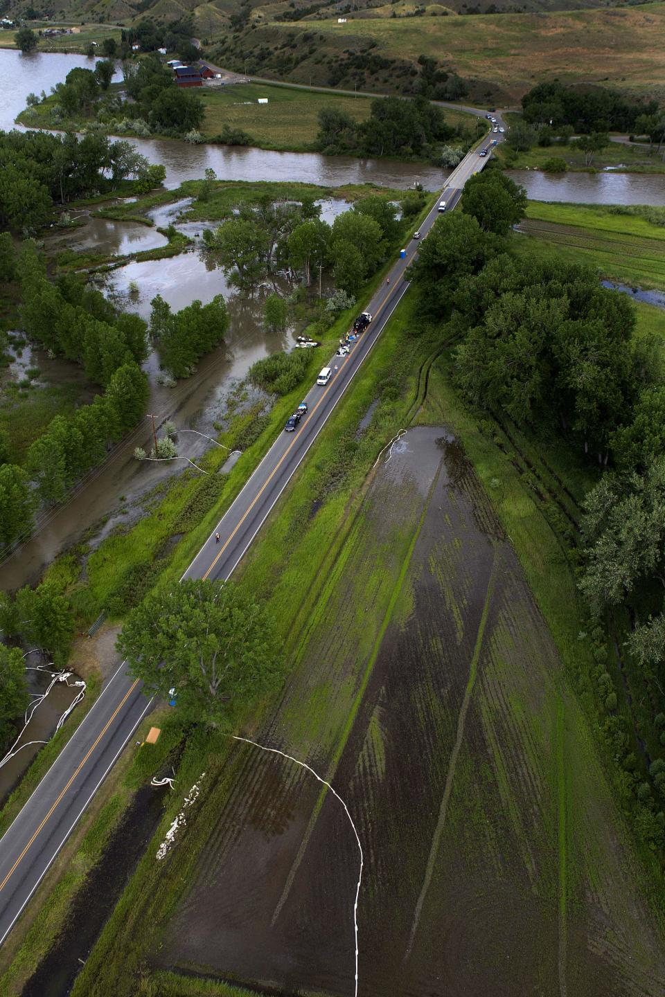 APNewsBreak: Floods blamed for 16 pipeline spills