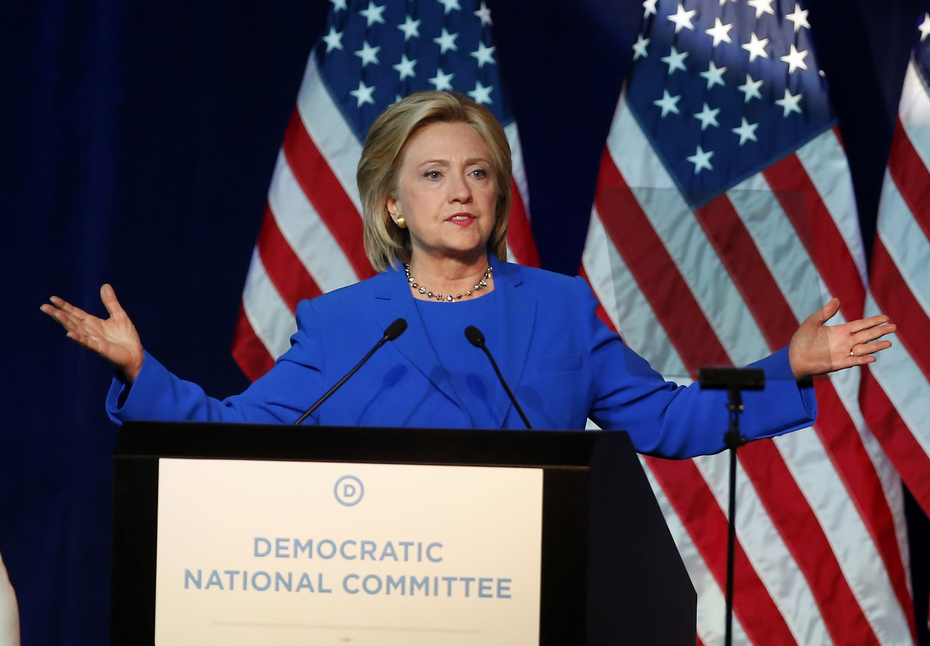 Clinton, aides stressed protecting State Dept info in email