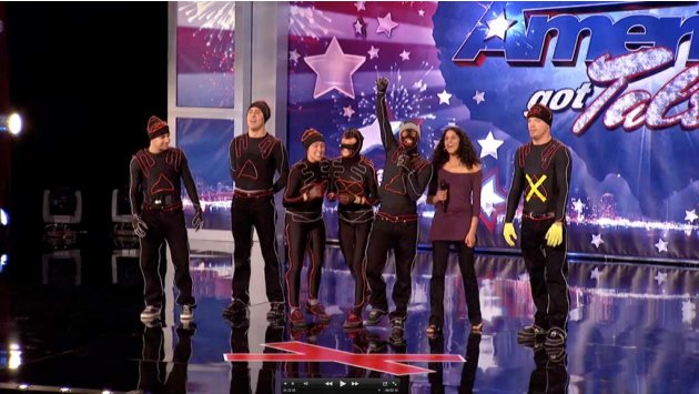 "Team iLuminate (glow suit dancers) is one of the Top 48 acts on Season 6 of ""America's Got Talent."""