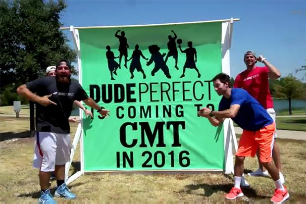 YouTube Sports Comedy Team 'Dude Perfect' Lands CMT Series (Video)