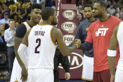 The Cavaliers needed every one of Kyrie Irving's 55 points