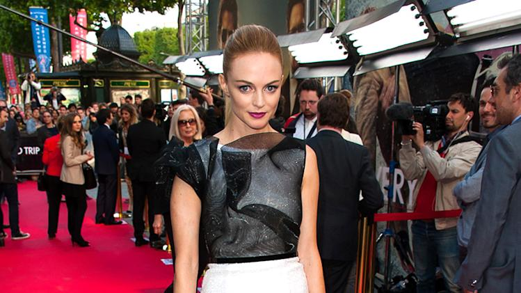 Heather Graham at the premiere of the movie 'Hangover - Very Bad Trip III' at the UGC Normandie Cinema in Paris
