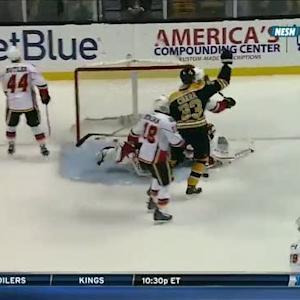 Zdeno Chara nets two against Flames