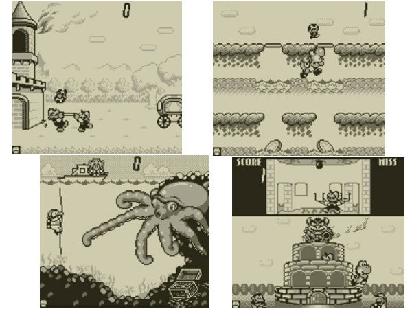 Game &amp; Watch Gallery (3DS)