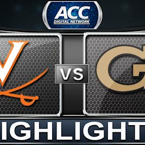 Virginia vs Georgia Tech | 2014 ACC Women's Basketball Tournament Highlights