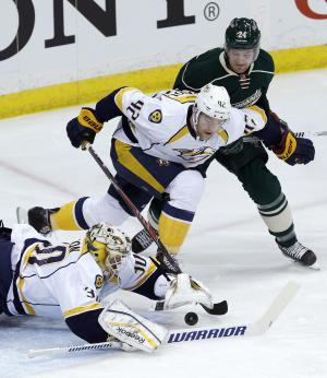 Predators finish strong with 7-3 win vs. Wild
