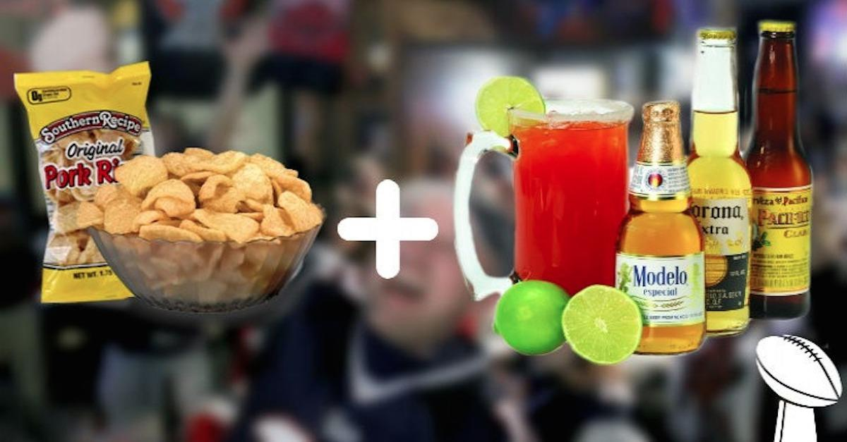 13 Definitive Superbowl Food And Drink Combos