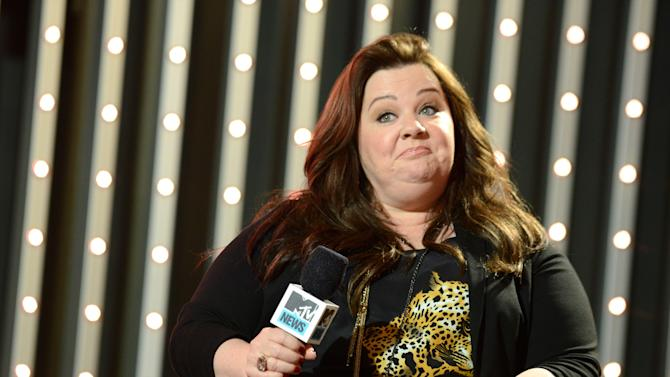 "Cast member of ""The Heat"" actress Melissa McCarthy is seen at ""The MTV Movie Awards Sneak Peek Week"" on Thursday, April 11, 2013, in Universal City, Calif. (Photo by Jordan Strauss/Invision for MTV/AP Images)"