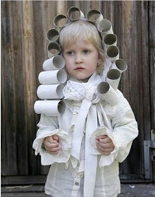 The uses for empty toilet paper rolls are endless...