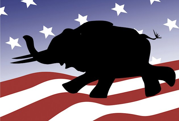 Republican silhouette (Linda Braucht/Getty Images)