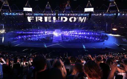 ختام اولمبياد لندن 2012 اطفاء