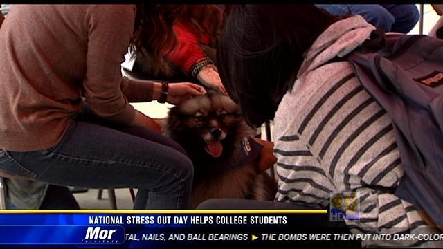 National Stress-Out Day helps college students