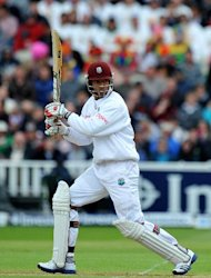 Kieran Powell scored back-to-back centuries in the first Test