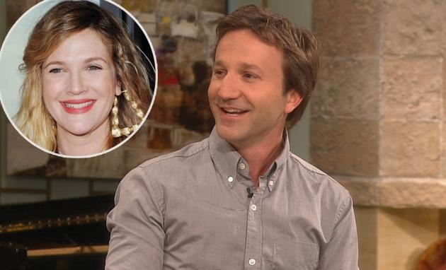Breckin Meyer stops by Access Hollywood Live on Jun 25, 2012 / inset: Drew Barrymore -- Access Hollywood