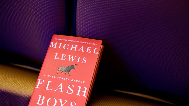 "Michael Lewis Discusses His New Book, ""Flash Boys"""